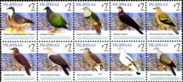 Ref. 249257 * NEW *  - PHILIPPINES . 2008. BIRDS. AVES - Filipinas