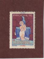 Vignette De 1930 - PROPRETÉ - Dpt. De L' AUDE - Deux Sous Pour La Santé - Contre La TUBERCULOSE - 2 Scannes - Erinnophilie