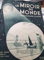 MIROIR MONDE/ CHANGHAI /ETHIOPIE PRINCES/MANDCHOURIE /PARIS POLICE CHIAPPEN - Livres, BD, Revues