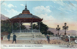 MONTE CARLO - Kiosque Et Terrasses  (118346) - Ohne Zuordnung