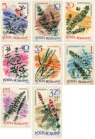Ref. 267542 * HINGED *  - ROMANIA . 1966. WATER PLANTS. PLANTAS ACUATICAS - 1948-.... Repubbliche