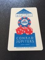 Hotelkarte Room Key Keycard Clef De Hotel Tarjeta Hotel  CONRAD JUPITERS CASINO GOLD COAST - Télécartes