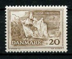 DANEMARK 1962 N° 416 ** Neuf MNH  Superbe Sauvegarde De Sites Naturels Falaises De L'île De Mon - Danimarca