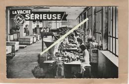 Dept 39 : ( Jura ) Lons Le Saunier, Une Partie De L'usine De La Fabrication La Vache Sérieuse, Fromage. - Lons Le Saunier