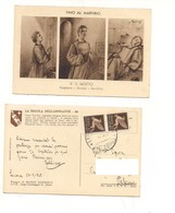 P1058 Regola Aspirante Mario Barberis 1945 Luogotenenza Lercara Friddi Palermo 1945 Posta Aerea - Altri