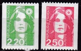 Frankreich, 1991, Mi.Nr. 2858/59 C, MNH **,  Marianne Mit Kokarde - Unused Stamps