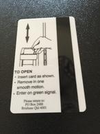 Hotelkarte Room Key Keycard Clef De Hotel Tarjeta Hotel  CONRAD TREASURY BRISBANE  CASINO - Télécartes