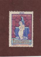 Vignette De 1930 - PROPRETÉ - Dpt. Des  BASSES PYRÉNÉES  -  Deux Sous Pour La Santé - Contre La TUBERCULOSE - 2 Scannes - Erinnophilie