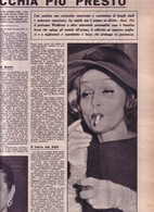 (pagine-pages)MARLENE DIETRICH   Dom.delcorr.1961/08. - Autres
