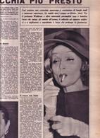 (pagine-pages)MARLENE DIETRICH   Dom.delcorr.1961/08. - Libri, Riviste, Fumetti