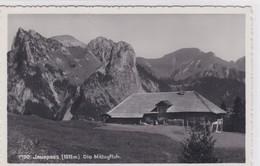 Jaunpass, Alphütte Mit Mittagsfluh. Fotokarte - BE Berne
