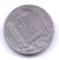 ESPANA 1941: 5 Centimos, KM 765 - 10 Céntimos