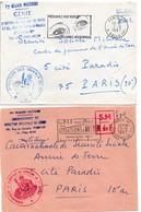 Génie 1967 - Paris - Direction Des Travaux Et Direction Régionale - Armée De Terre - Bolli Militari A Partire Dal 1940 (fuori Dal Periodo Di Guerra)