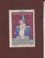 Vignette De 1930 - PROPRETÉ - Dpt. De La SEINE INFÉRIEURE - Deux Sous Pour La Santé - Contre La TUBERCULOSE - 2 Scannes - Erinnophilie