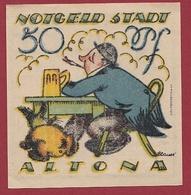 Allemagne 1 Notgeld 50 Pfenning Stadt Altona Dans L 'état Lot N °5888 - [ 3] 1918-1933 : Weimar Republic