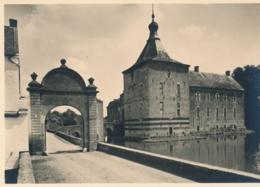Nederland - 1946 - 5 Op 7,5 Cent Veth, Fotokaart Oud Valkenburg Kasteel Genhoes, Briefkaart G286u - Ongebruikt - Entiers Postaux