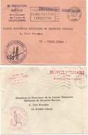 Génie 1967 - Laon & Valenciennes - Direction Des Travaux - Armée De Terre - Bolli Militari A Partire Dal 1940 (fuori Dal Periodo Di Guerra)