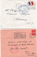 3ème & 5ème Régiment Du Génie 1964 & 1970 - Versailles & Charleville-Mezières - Armée De Terre - Cachets Militaires A Partir De 1900 (hors Guerres)