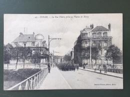 SEDAN-La Rue Thiers, Prise Au Viaduc De Torcy - Sedan
