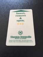 Hotelkarte Room Key Keycard Clef De Hotel Tarjeta Hotel  SHERATON TOWNSVILLE HOTEL & CASINO - Télécartes