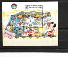 Sierra Léone - 1991 - Noél: Walt Disney - Y Et T, Bloc Feuillet N° 164** (M. N. H. ) - Luxe - Sierra Leone (1961-...)