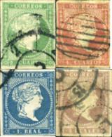 Ref. 365721 * USED *  - SPAIN . 1856. ISABEL II. ISABEL II - Gebraucht