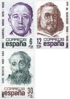 Ref. 116569 * NEW *  - SPAIN . 1981. CENTENARIES. CENTENARIOS - 1981-90 Ungebraucht