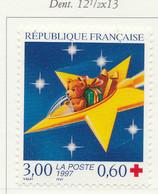 PIA -  FRANCIA  - 1997  : A Profitto Della Croce Rossa - Feste Di Fine Anno -   (Yv  3122) - Primo Soccorso