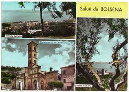 BOLSENA - VITERBO - SALUTI DA.. - VEDUTINE -VIAG.-24051 - Viterbo