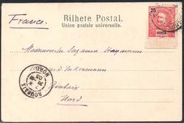 PORTUGAL HORTA CARTE POSTALE 1903 Vers FRANCE ROUBAIX - PE5 - Horta
