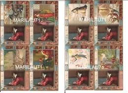 P1063 DANTE DIVINA COMMEDIA PARADISO 32 Cartoline A Rilievo Ed SBORGI Splendide Non Viaggiate - Altri