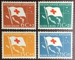 Netherlands Antilles 1958 Red Cross MNH - Curaçao, Nederlandse Antillen, Aruba