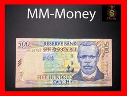 MALAWI 500 Kwacha 1.12.2001  P. 48  UNC - Malawi