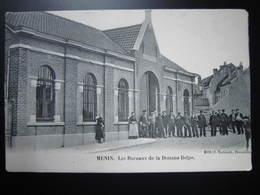 MENEN - MENIN  Les Bureaux De La Douane Belge - Menen