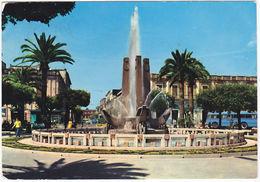 BRINDISI - FONTANA PIAZZA CAIROLI - VIAGG. 1964 -36458- - Brindisi