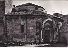 BRINDISI - TEMPIO DI S. GIOVANNI AL SEPLOCRO - MUSEO CIVICO -74092- - Brindisi