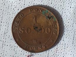 VATICAN 1 SOLDO 1866 R - Vatican