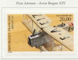 PIA -  FRANCIA  - 1997  : Posta Aerea - Aereo Breguet XIV -   (Yv  P.A. 61a) - 1960-.... Nuovi