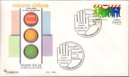 Ref. 599626 * NEW *  - SPAIN . 2006. CIVIC VALUES. VALORES CIVICOS - 2001-10 Ungebraucht
