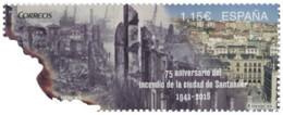 Ref. 354299 * NEW *  - SPAIN . 2016. 75TH ANNIVERSARY FIRE OF THE CITY OF SANTANDER. 75 ANIVERSARIO INCENDIO DE LA CIUD - 1931-Oggi: 2. Rep. - ... Juan Carlos I