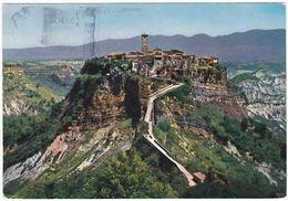 CIVITA DI BAGNOREGIO - VITERBO - PATRIA DI S. BONAVENTURA - VIAGG. -33581- - Viterbo
