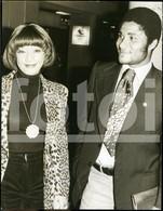 1973 ORIGINAL PRESS PHOTO SLB SPORT LISBOA E BENFICA EUSEBIO JOGADOR TEAM FUTEBOL FOOTBALL SOCCER PLAYER PORTUGAL FOTO - Sports