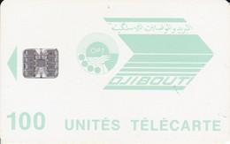 TARJETA DE DJIBOUTI DE 100 UNITES - Dschibuti