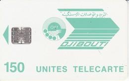 TARJETA DE DJIBOUTI DE 150 UNITES - Djibouti