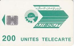 TARJETA DE DJIBOUTI DE 200 UNITES LA STID - Djibouti