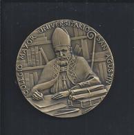 Bronze Medal (PE Proof Of Editor) Of Colegio Mayor Universitário San Agustin. Medalla De Bronce (PE Prueba De Editor) - Firma's