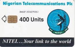 TARJETA DE NIGERIA DE 400 UNITS DE UNA ANTENA PARABOLICA PARA SATELITES (SATELLITE) - Nigeria