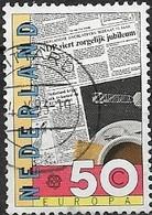 NETHERLANDS 1983 Europa - 60c  Newspaper (75th Anniversary Of Netherlands Newspaper Publishers Association) FU - Period 1980-... (Beatrix)