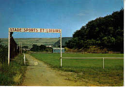 57 ALGRANGE Vers Hayange Thionville  N°666 Stade Sports Et Loisirs Terrain De Football Foot écrite En 1988 - Hayange