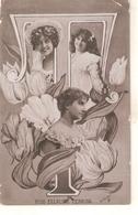 """Miss. Ellaline Terris"" Tuck Flower & Beauty Series PC #  F 372 - Tuck, Raphael"